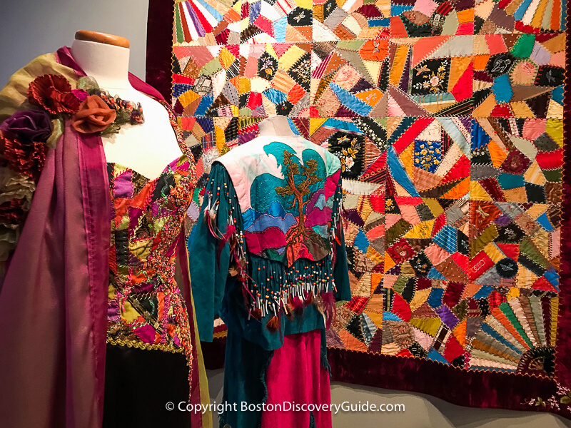 Exhibit at Lowell Quilt Museum in Lowell, north of Boston