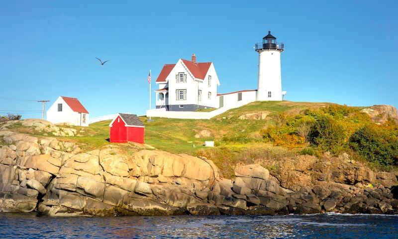 Lighthouse near Portland, Maine - Photo courtesy of Bill Mckenna