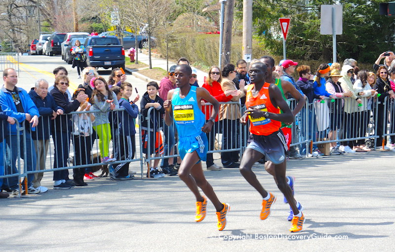 Runners in the Elite Men's division