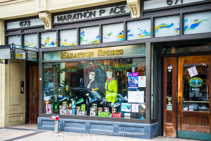 Marathon Sports, part of a small New England athletic wear group known for their wide selection of athletic shoes