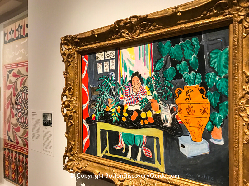 Art in Bloom at Museum of Fine Arts
