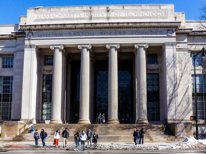 MIT - Entrance on Mass Ave