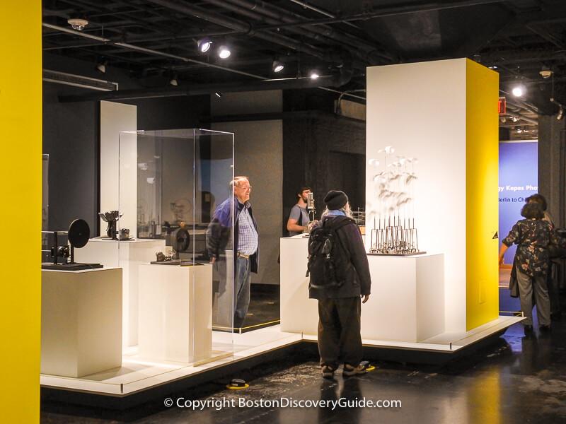 Exhibit at MIT Museum in Cambridge