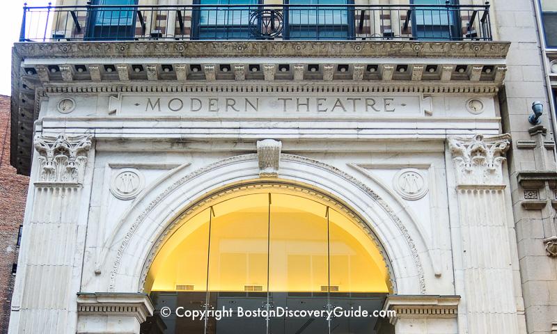 Modern Theatre in Boston