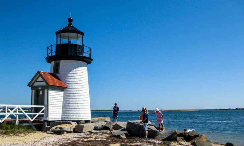 Nantucket Island lighthouse