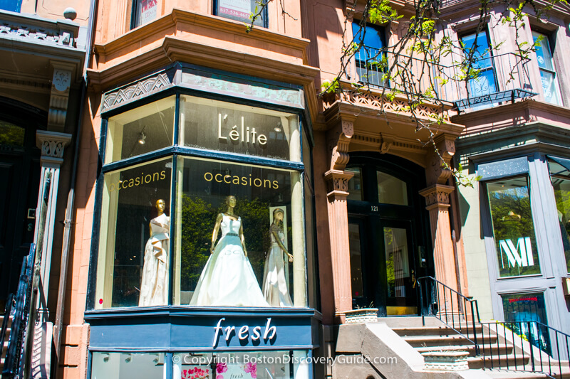 L'Elite and Arche on Boston's Newbury Street