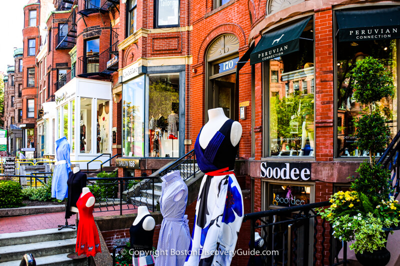 Soodee, a woman-owned local Boston fashion boutique offering one-of-a-kind apparel