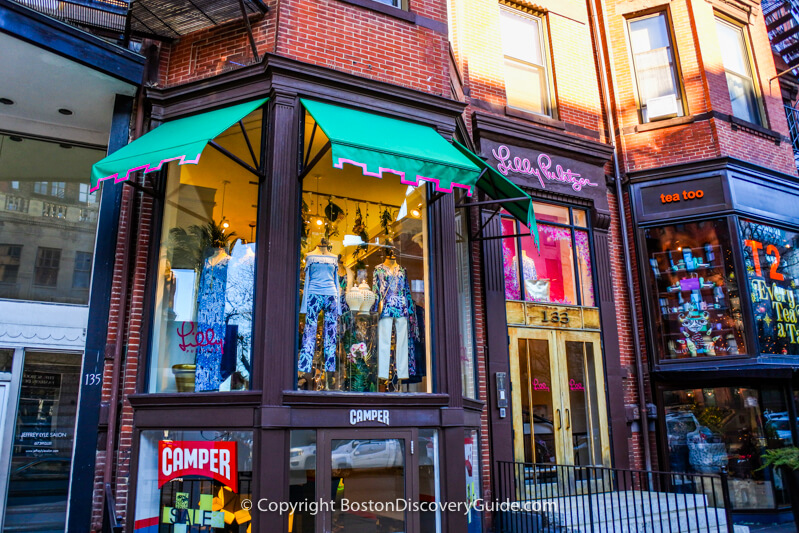 Lilly Pulitzer on Newbury Street