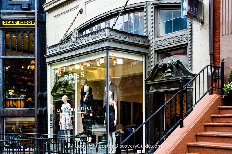 Marc Jacobs on Newbury Street