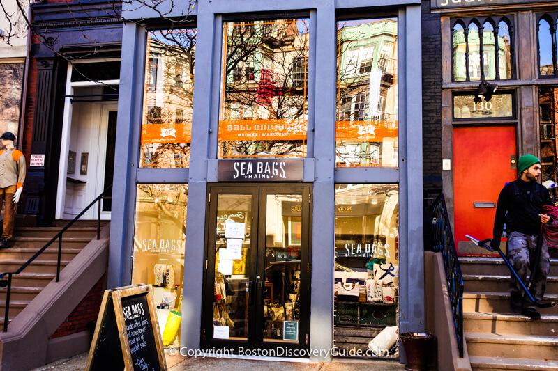 Marc Jacobs on Newbury Street