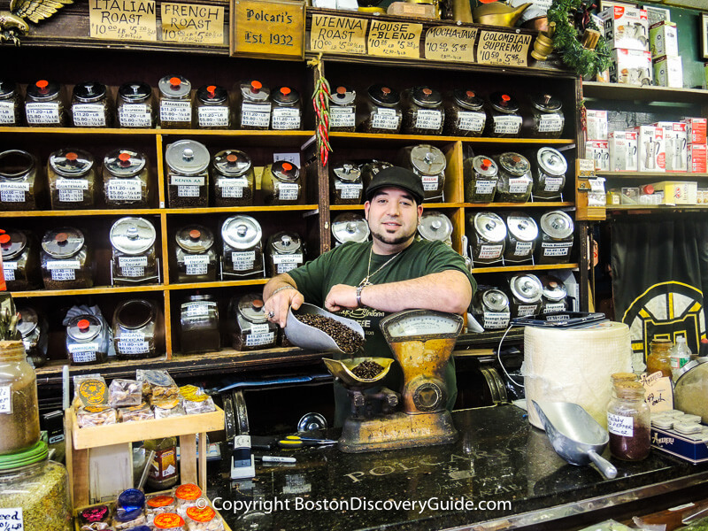 Polcari's Coffee in Boston's North End