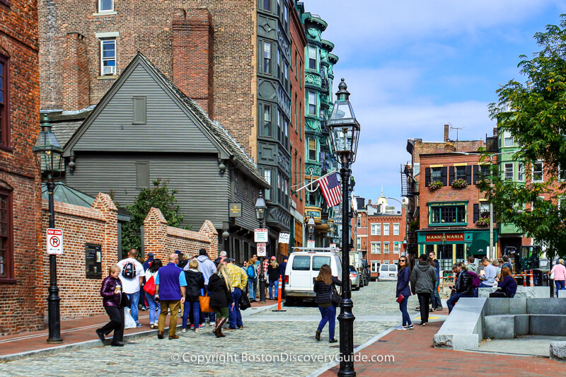 Boston neighborhoods:  Christopher Columbus Day Parade in the North End