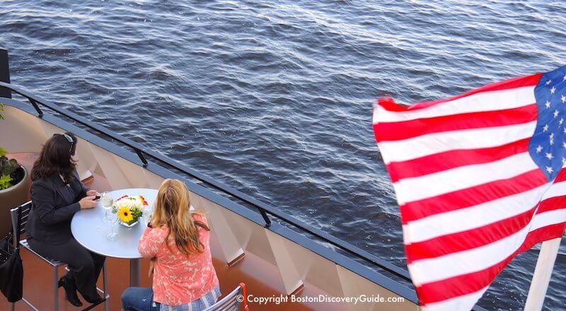 Boston Harborfest activities