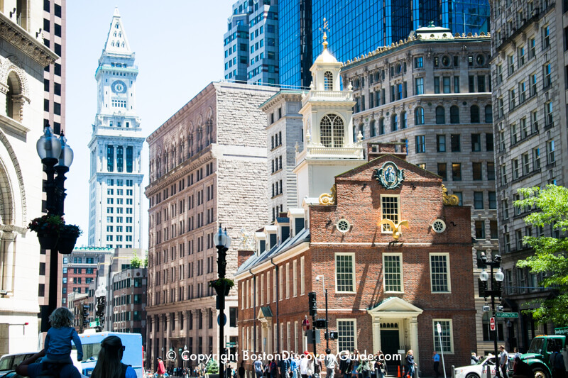 Historic downtown boston attractions tours hotels for Historic hotels in boston