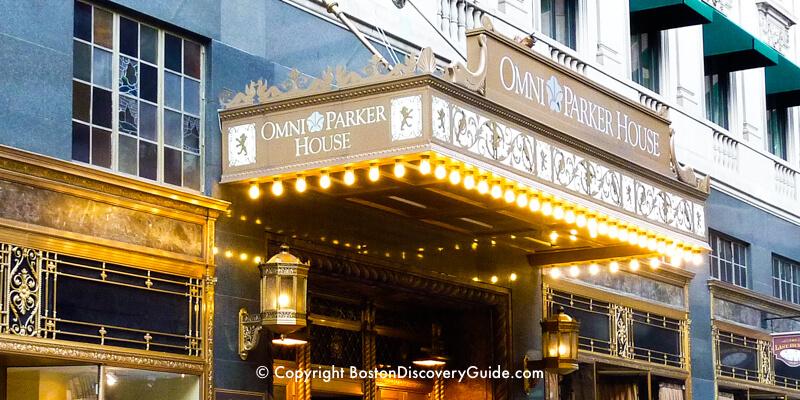 Omni Parker House Hotel on Boston's Freedom Trail