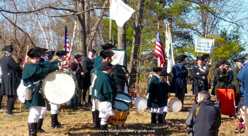 Lincoln Minute Men - Fife and Drum Corps