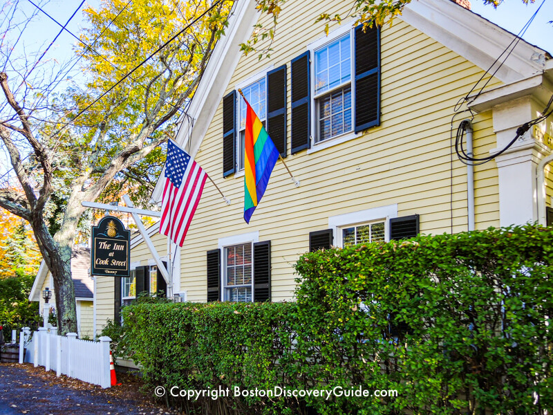Charming inn in Provincetown
