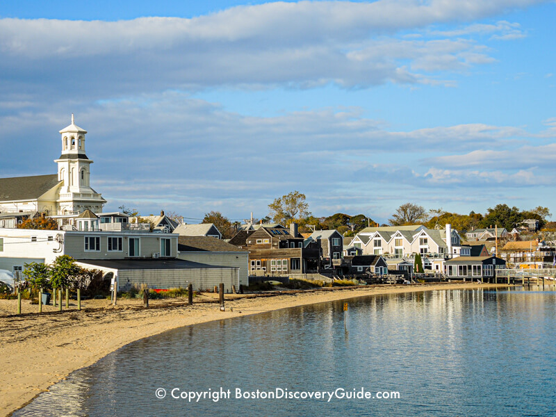 View of Provincetown from MacMillan Wharf