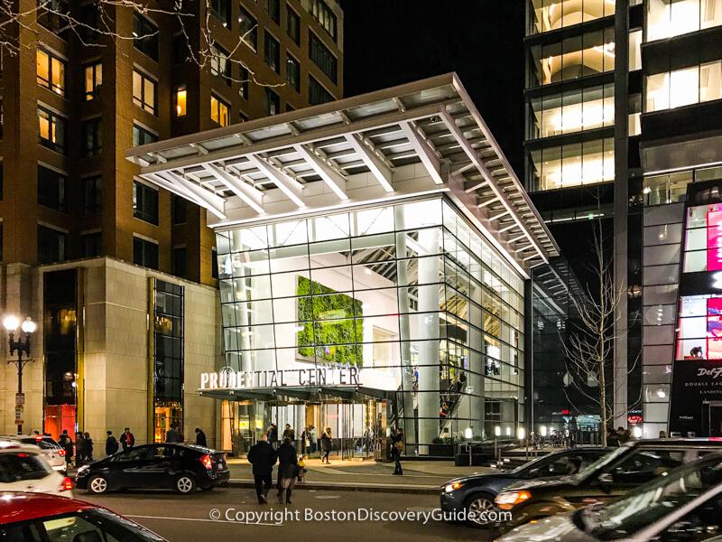 Prudential Center's Boylston Street Entrance