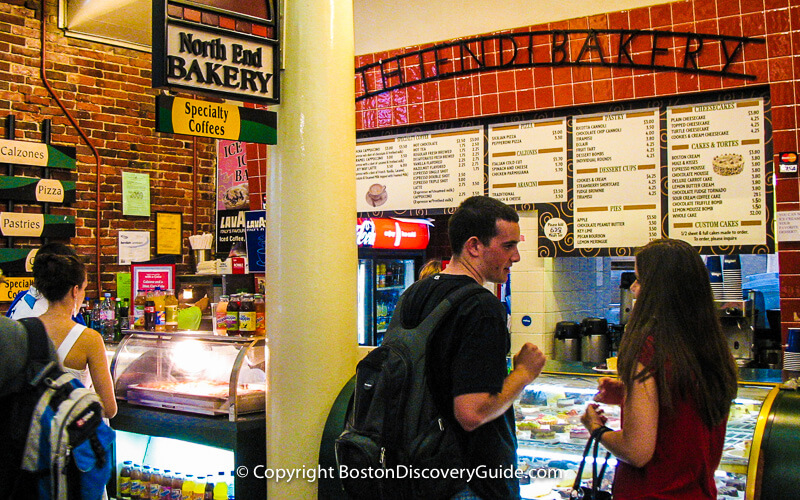 Food Stall in Quincy Market