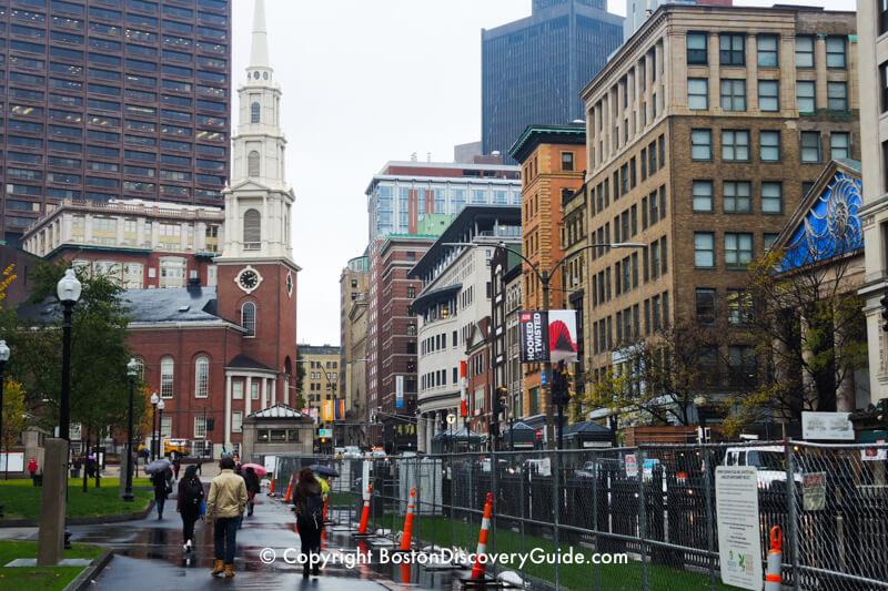 Park Street Church, on Boston's Freedom Trail
