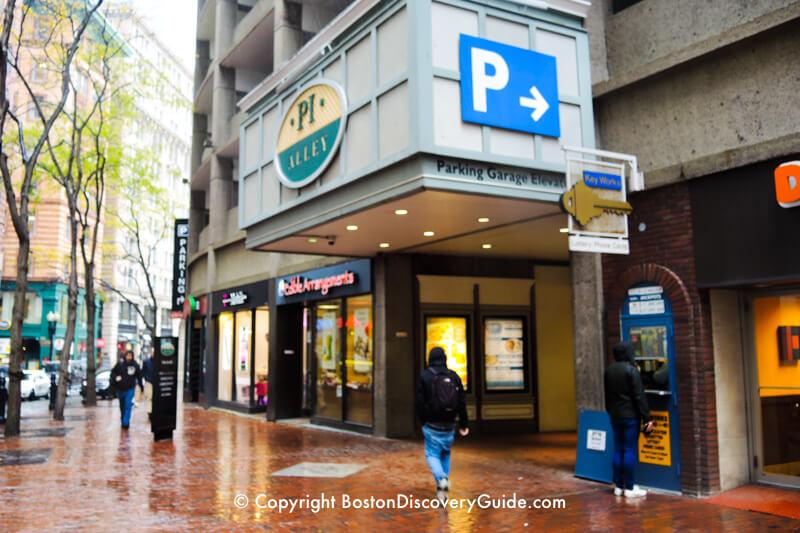 Pi Alley on Boston's Washington Street