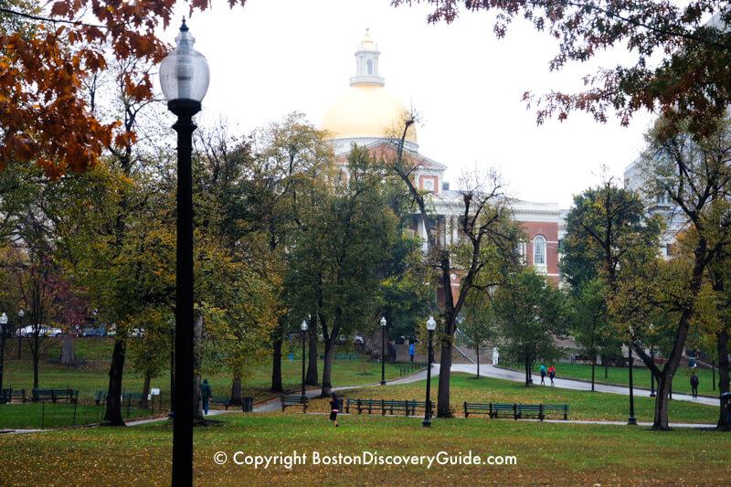 Massachusetts State House on Beacon Hill