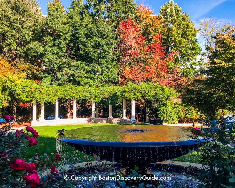 Boston's Ramler Park on an October afternoon