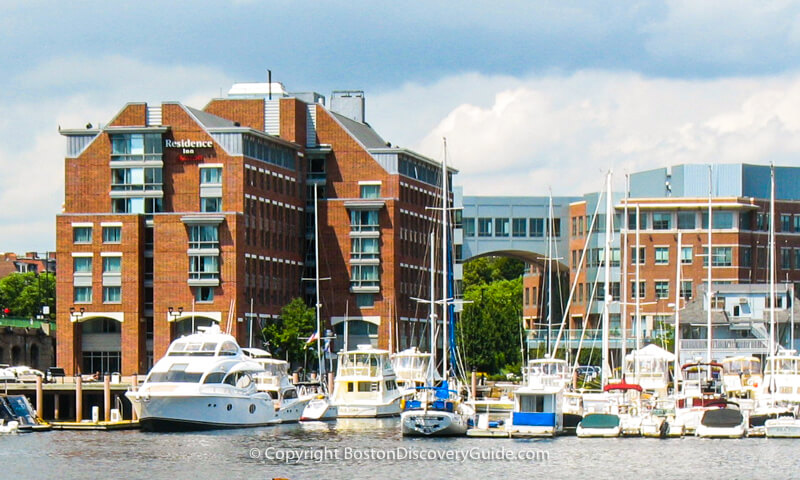 Boston Waterfront Hotels - Residence Inn Boston Harbor