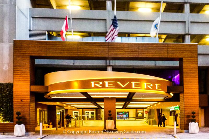 Revere Hotel entrance
