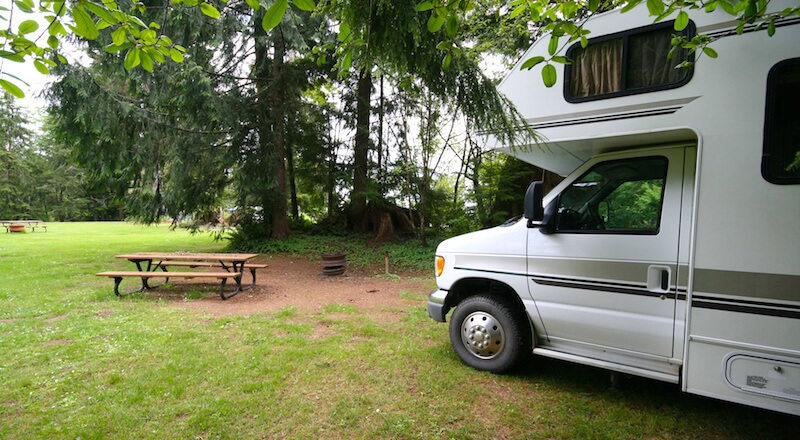 RV Parking and campgrounds near Boston
