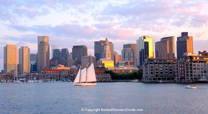 Boston Harbor cruises during Harborfest