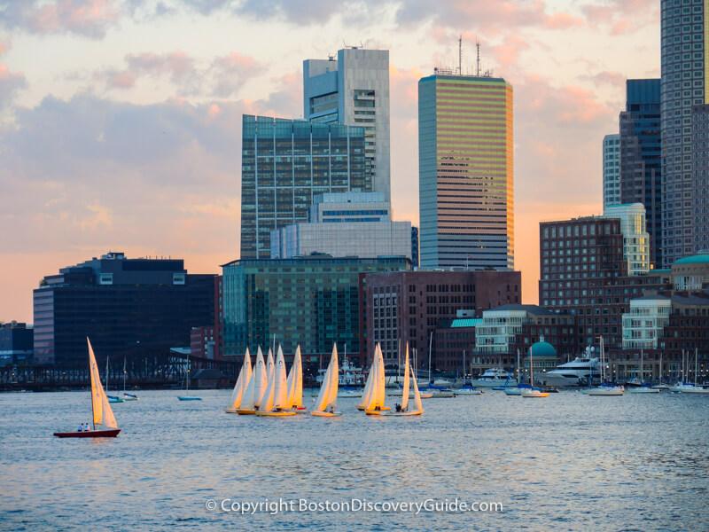 Boston neighborhoods:  Downtown Waterfront