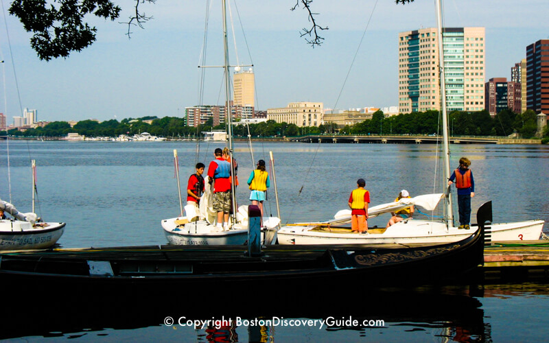 Where To Go Sailing In Boston Boston Discovery Guide