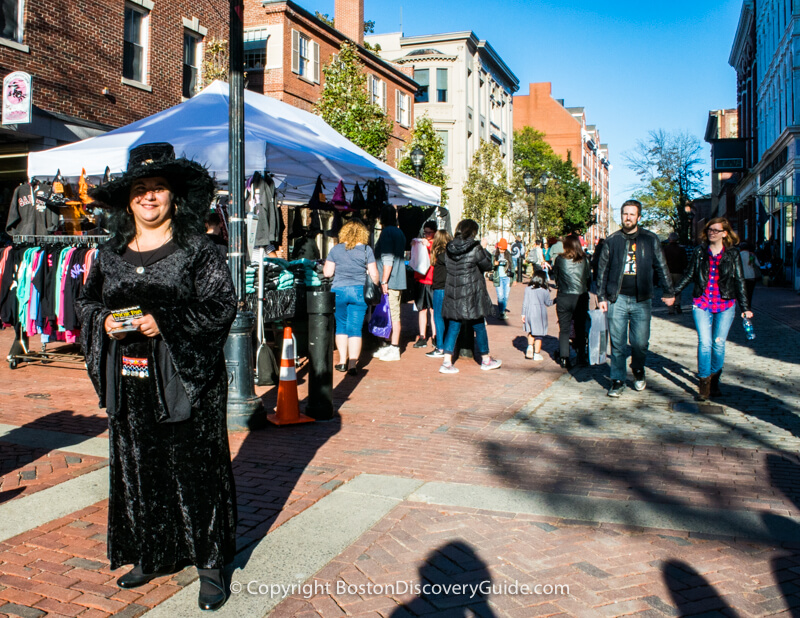 Salem, a week before Halloween