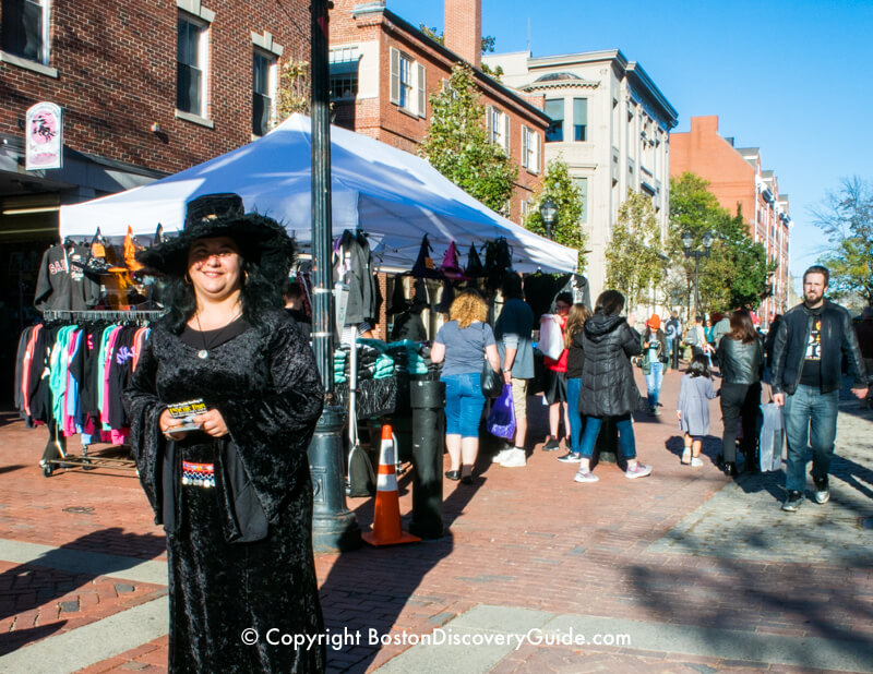 Salem Witch on this favorite Boston tour for teens