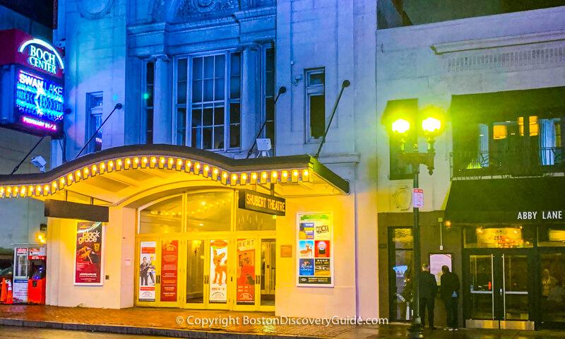 Shubert Theatre in Boston's Theatre District