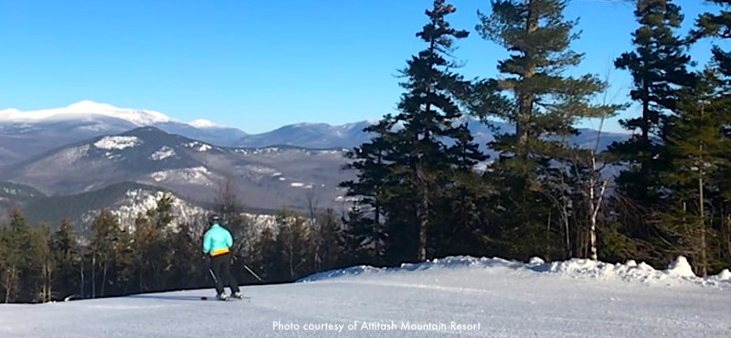 Attitash, one of the top New England ski areas located in Bartlett, NH