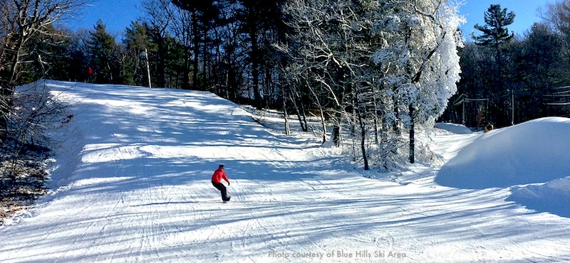 Blue Hills Ski Area near Boston