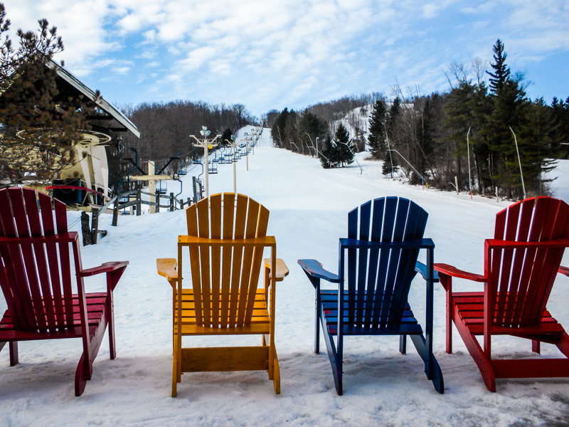 Bousquet Ski Area in western Massachusetts