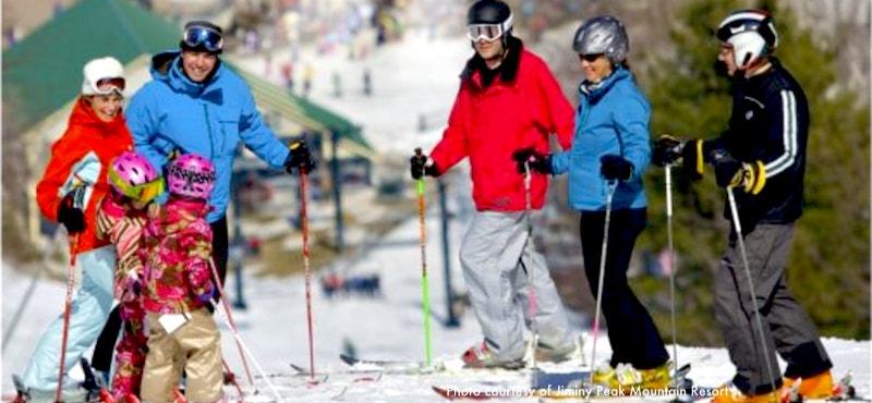 Bousquet Ski Area in western Massachusetts