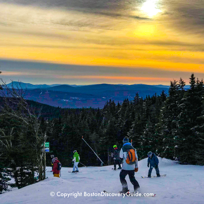 Mount Snow, New England ski area in West Dover, VT