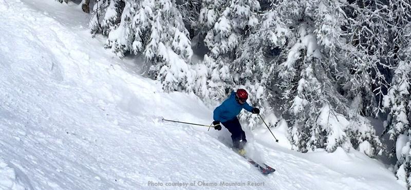 Okemo Mountain Resort, New England ski area about 3 hours from Boston
