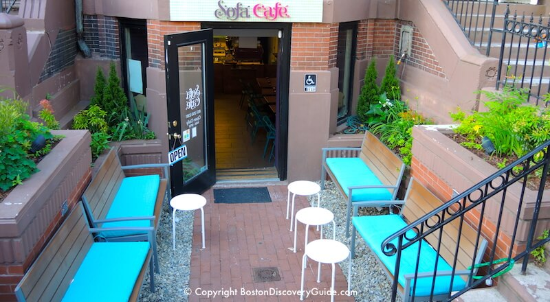 Sofa Cafe outdoor dining