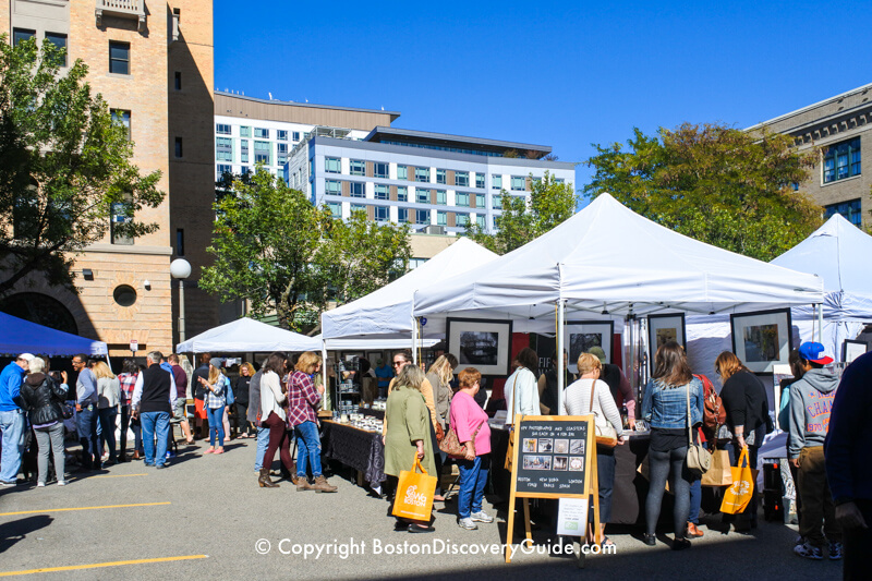 SoWa Open Market Opening Day in May - Boston