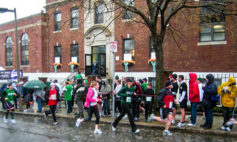 St Patrick's Day 5K race in South Boston