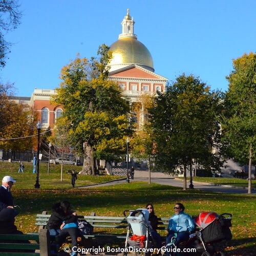 Boston neighborhoods:  Boston Common