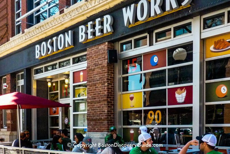Boston Beer Works near TD Garden in Boston