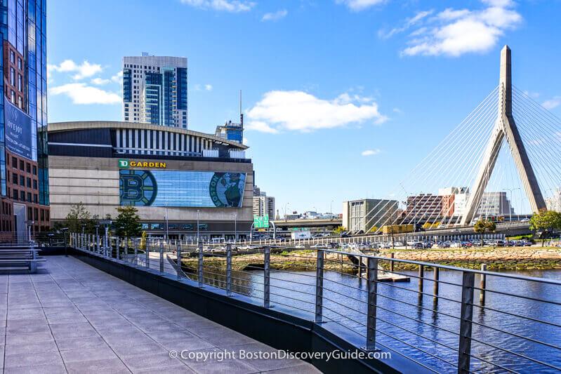 New England Bruins at TD Garden in Boston