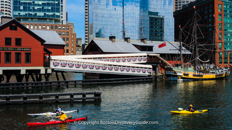 Boston Tea Party Museum & Ships